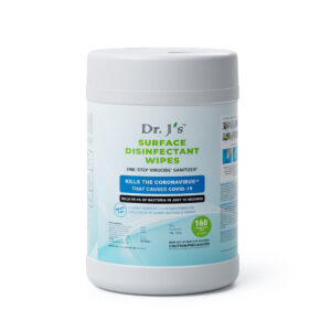 Dr J's Surface Disinfectant Wipes - 160Ct Wipes Canister
