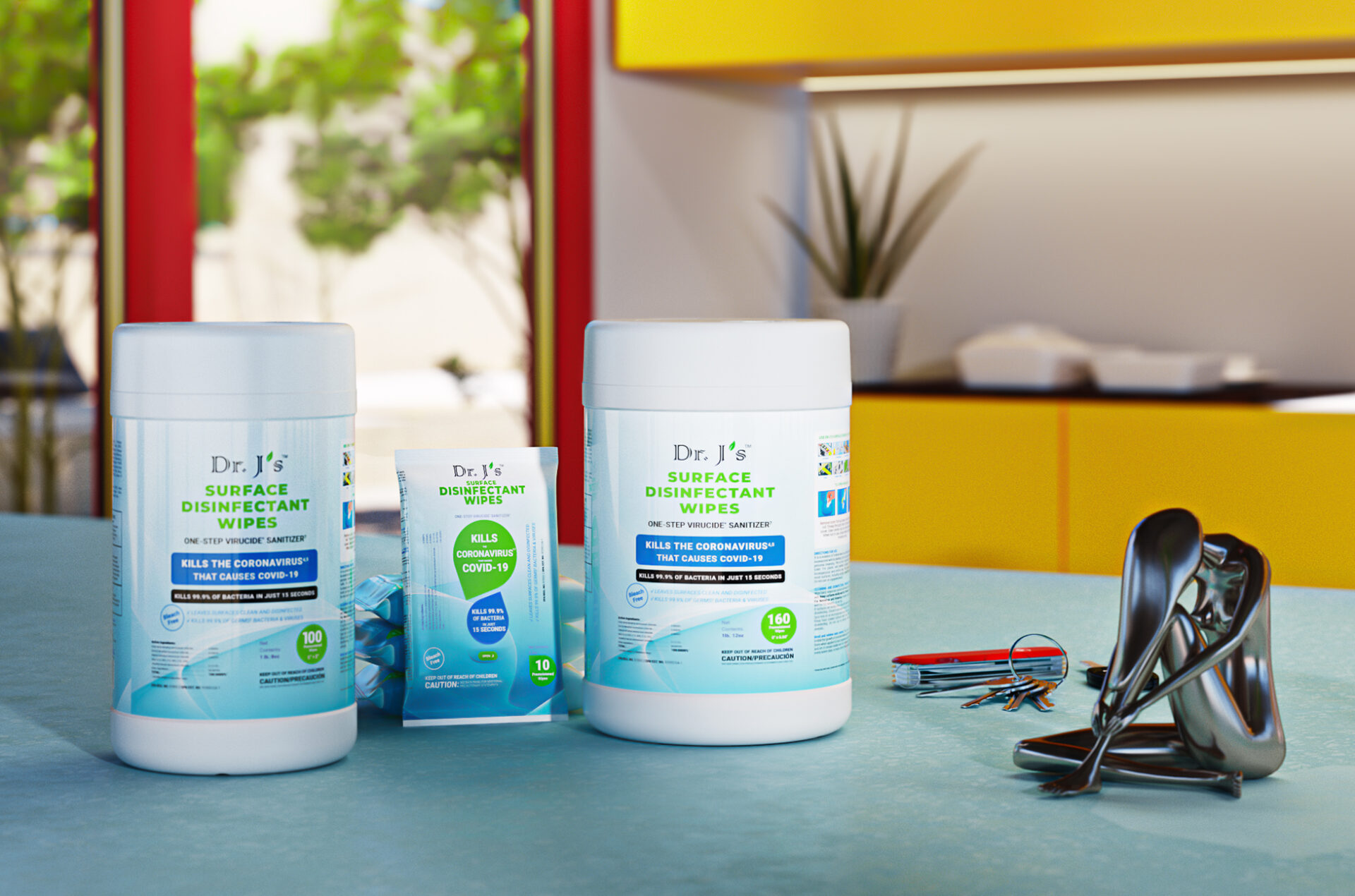 DrJs Disinfectant Wipes
