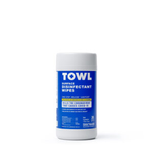 TOWL Surface Disinfectant Wipes - 35Ct Canister