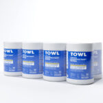 TOWL Surface Disinfectant Wipes - 160Ct Canister Case of 8