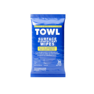 TOWL Surface Disinfectant Wipes - 35Ct Soft Pack