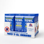 TOWL Surface Disinfectant Wipes - 15Ct Soft Packs Case of 20
